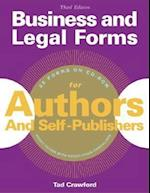 Business and Legal Forms for Authors and Self-Publishers [With CDROM] (Business Legal Forms for Authors Self Publishers)