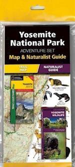 Yosemite National Park Adventure Set af National Geographic Maps