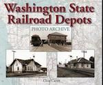 Washington State Railroad Depots Photo Archive af Ann Carter, Clive Carter