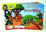 In the Wild Board Book [With 10 Animal] (Junior Groovies)