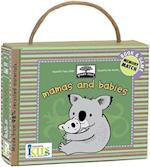 Mamas and Babies Board Book [With 20 Memory Cards] (Green Start)