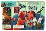 Pets Board Book [With 10 Animal Figures] (Junior Groovies)