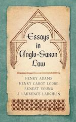 Essays in Anglo-Saxon Law (1876)