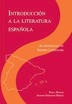 Introduction a La Literatura Espanola