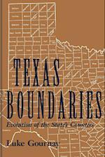 Texas Boundaries (Centennial Series of the Association of Former Students Texas A M University Hardcover, nr. 59)
