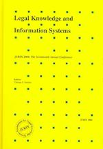 Legal Knowledge and Information Systems (Frontiers in Artificial Intelligence and Applications)