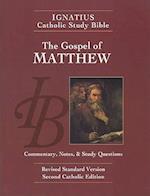 The Gospel According to Saint Matthew (Ignatius Catholic Study Bible)