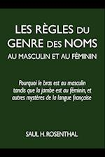 Les Regles Du Genre Des Noms Au Masculin Et Au Feminin