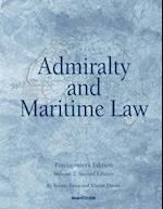 Admiralty and Maritime Law Volume 2, Second Edition