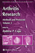 Arthritis Research (Methods in Molecular Medicine, nr. 136)