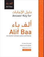 Answer Key for Alif Baa (Answer Key for Alif Baa)