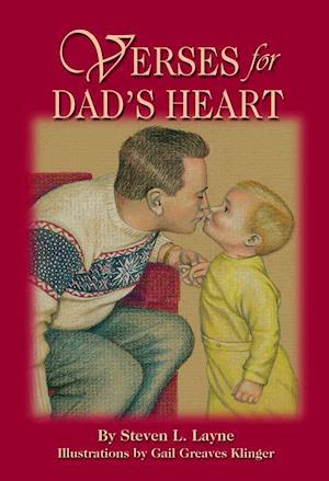 Bog, paperback Verses for Dad's Heart af Steven L Layne