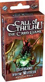 Screams from Within Asylum Pack (Call of Cthulhu The Card Game)