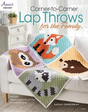 Bog, paperback Corner-To-Corner Lap Throws for the Family af Sarah Zimmerman