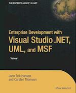 Enterprise Development with Visual Studio .Net, UML, and Msf af John Hansen, Klaus Hansen, Carsten Thomsen
