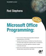 Microsoft Office Programming (The Expert's Voice)