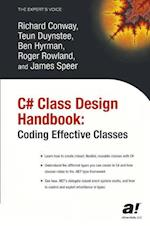 C# Class Design Handbook (The Expert's Voice)