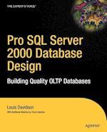 Pro SQL Server 2000 Database Design (Pro)