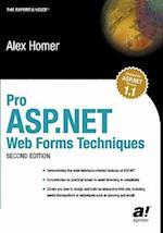 Pro ASP.Net Web Forms Techniques (Pro)