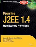 Beginning J2ee 1.4 (Novice to Professional)