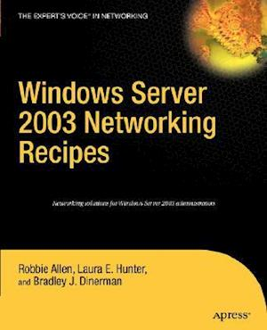 Windows Server 2003 Networking Recipes