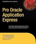 Pro Oracle Application Express (Experts Voice in Oracle)