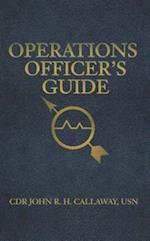 Operations Officer's Guide (Blue & Gold)