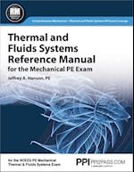 Thermal and Fluids Systems Reference Manual for the Mechanical PE Exam af Jeffrey A. Hanson