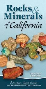 Rocks & Minerals of California (Adventure Quick Guides)