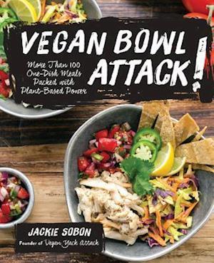 Bog, paperback Vegan Bowl Attack! af Jackie Sobon