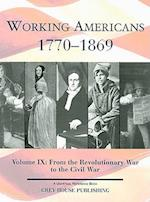 From the Revolutionary War to the Civil War (Working Americans, nr. 9)