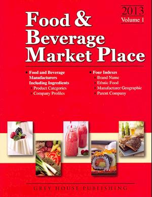 Bog, hardback Food & Beverage Market Place, 2013