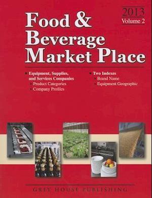 Food & Beverage Market Place, 2013