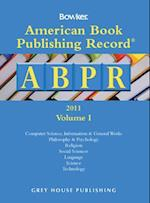 American Book Publishing Record Annual 2 Vol Set 2010 (American Book Publishing Record Annual)