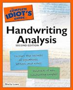 The Complete Idiot's Guide to Handwriting Analysis (Complete Idiot's Guide to)