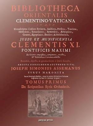 Bibliotheca Orientalis Clementino-Vaticana (Vol 1-4)