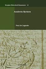 Analecta Syriaca
