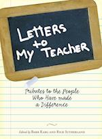 Letters to My Teacher