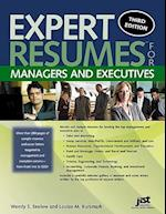 Expert Resumes for Managers and Executives (Expert Resumes)