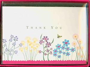 Thank You Notes Sparkly Garden