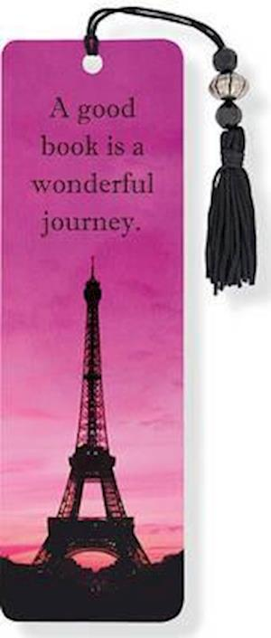 Eiffel Tower Beaded Bookmark