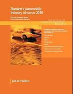 Plunkett's Automobile Industry Almanac 2010