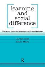 Learning and Social Difference af Carmel Borg, Peter Mayo