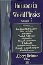 Horizons in World Physics af Albert Reimer