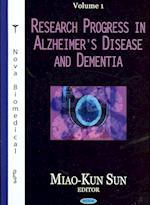 Research Progress in Alzheimer's Disease and Dementiavolume 1 af Miao-Kun Sun