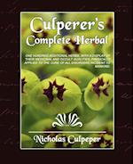 Culpeper's Complete Herbal af Nicholas Culpeper, Culpeper Nicholas Culpeper