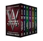Vampire Academy & Frostbite & Shadow Kiss & Blood Promise & Spirit Bound & Last Sacrifice af Richelle Mead