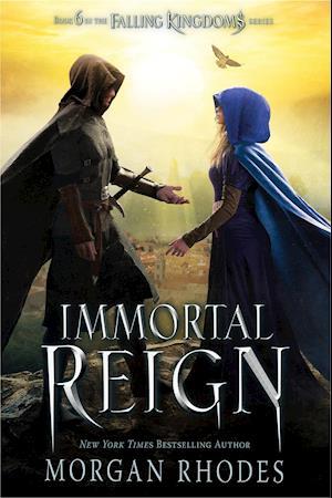 Bog, hardback Immortal Reign af Morgan Rhodes
