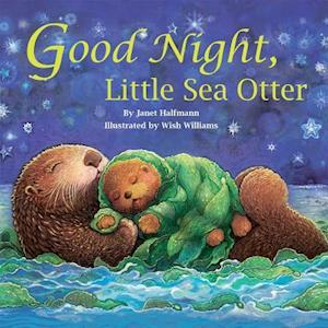 Bog, hardback Good Night, Little Sea Otter af Janet Halfmann