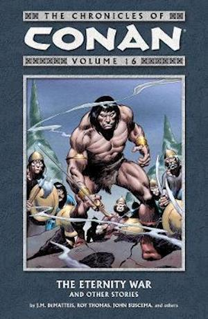 Bog, paperback The Chronicles of Conan 16 af J. M. Dematteis